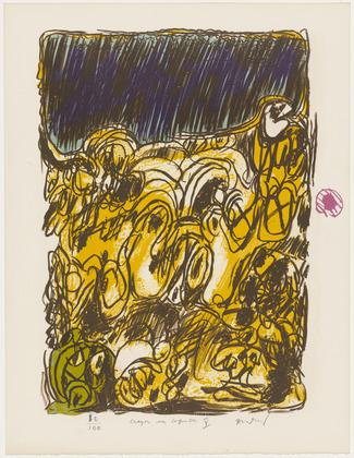 Alechinsky, litografi