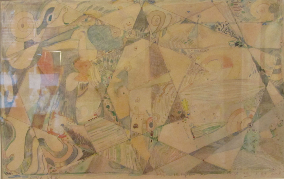 Frank Rubin - Akvarel - risom.dk
