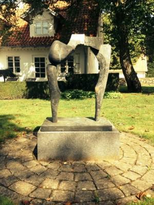 Peter Hesk-Møller - Bronzeskulptur - risom.dk