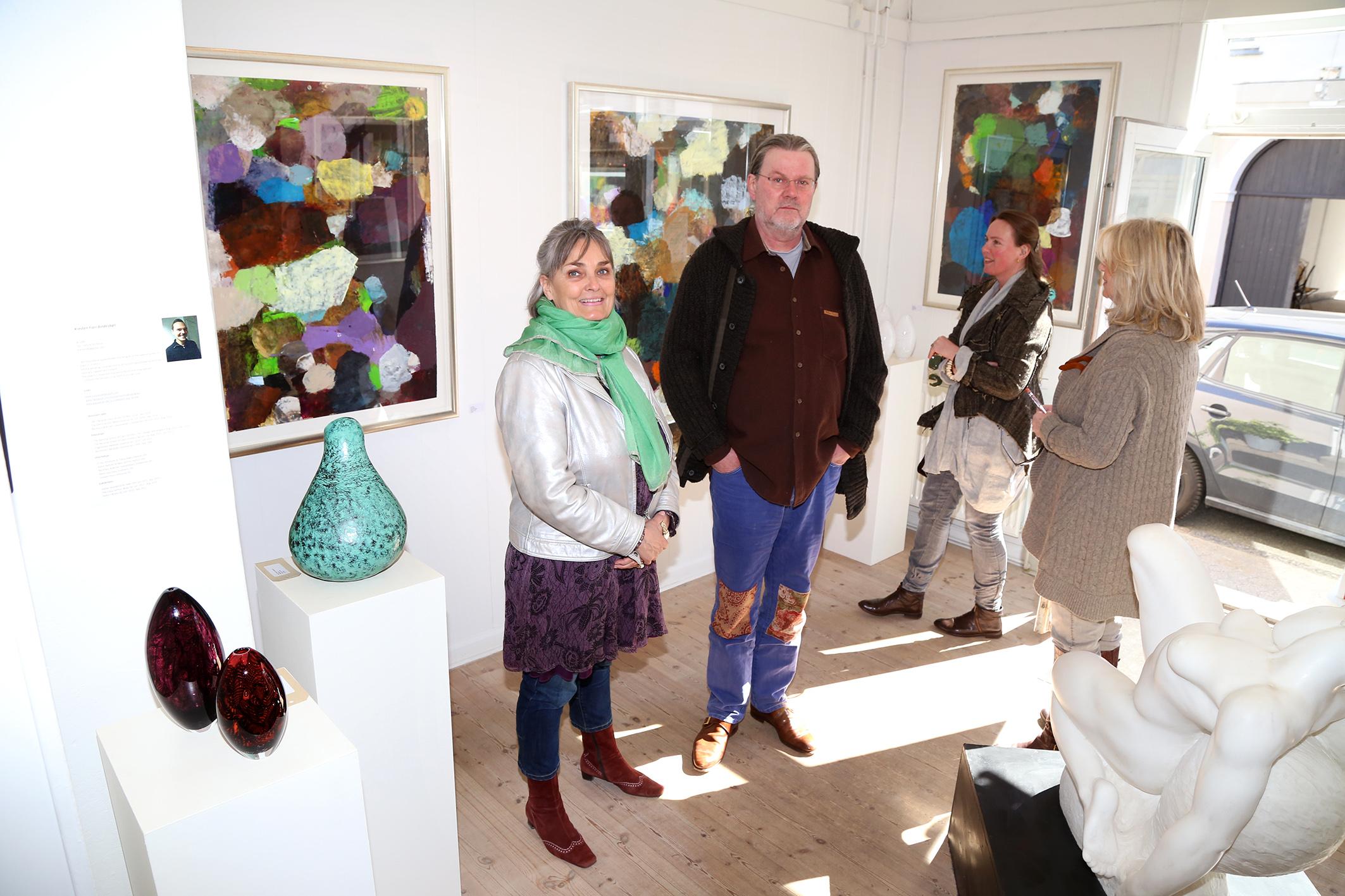 Foto Lars Johannessen - Lars Dan og Susanne Risom